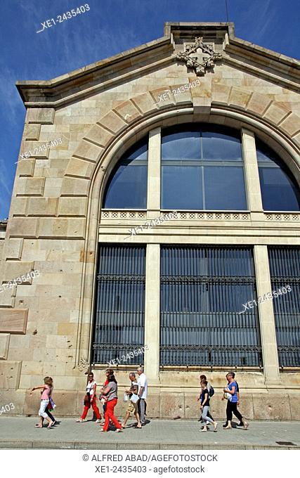 Customs house building, 1896-1902, arch. Enric Sagnier i Villavecchia, Barcelona, Catalonia, Spain