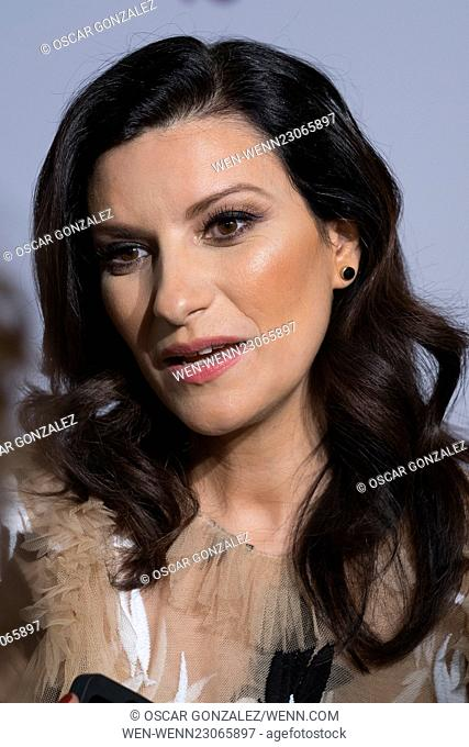 'Por ellas' Concert at the Barclaycard Center - Arrivals and Performances Featuring: Laura Pausini Where: Madrid, Spain When: 24 Oct 2015 Credit: Oscar...