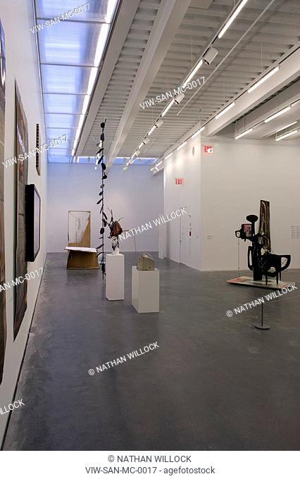 MUSEUM OF CONTEMPORARY ART, NEW YORK, UNITED STATES, Architect SANAA KAZUYO SEJIMA + RYUE NISHIZAWA, 2007