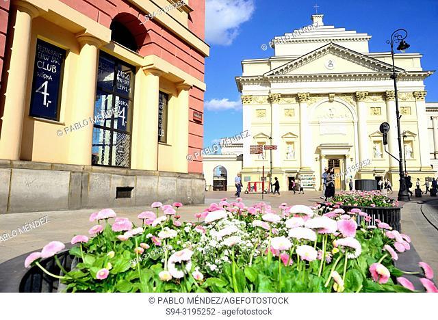 Church of Saint Anne, Warsaw, Poland