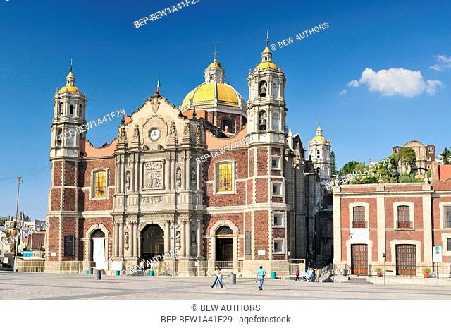 Mexico, Mexico City, The Basilica of Our Lady of Guadalupe, roman catholic church