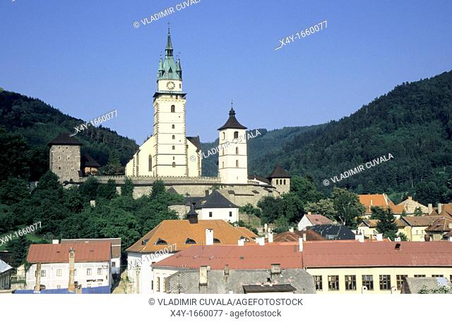 The church dedicated to St  Katherine, part of the castle in Kremnica, Slovakia