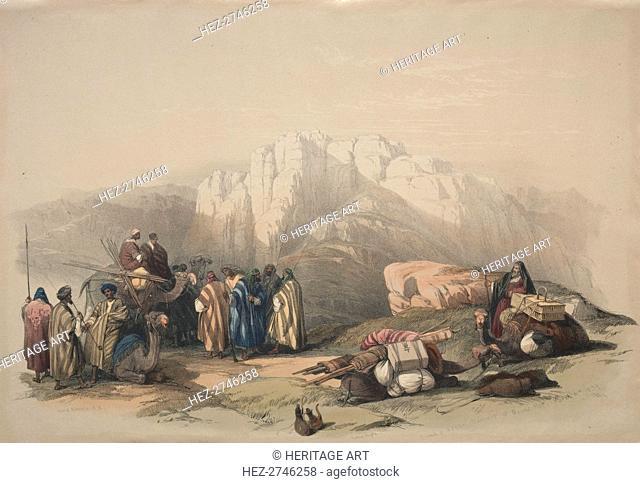 Tomb of Aaron, Summit of Mount Horeb, 1839. Creator: David Roberts (British, 1796-1864)