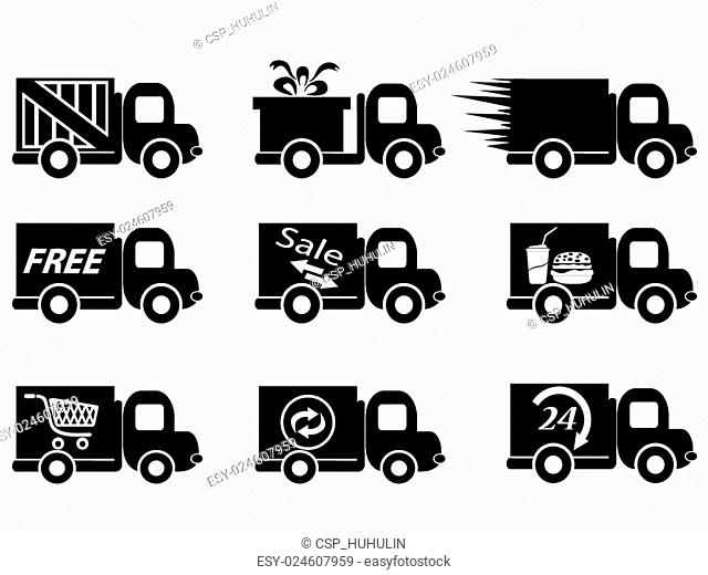 delivery truck icons