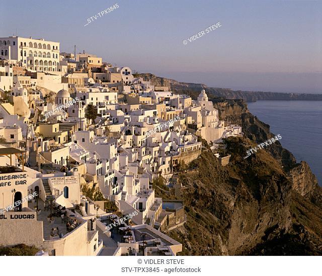 Cyclades, Fira, Greece, Europe, Holiday, Islands, Landmark, Santorini, Thira, Tourism, Travel, Vacation