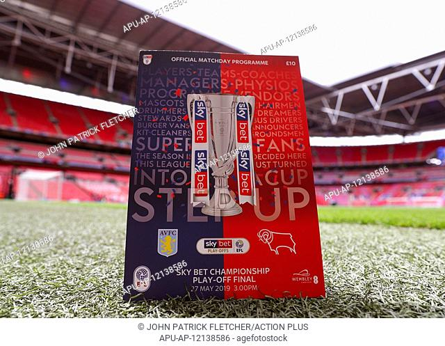 2019 EFL CHAMPIONSHIP PLAYOFF FINAL ASTON VILLA V DERBY