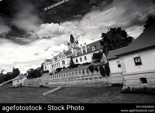 Grafenegg Castle in the Krems-Land district of Lower Austria