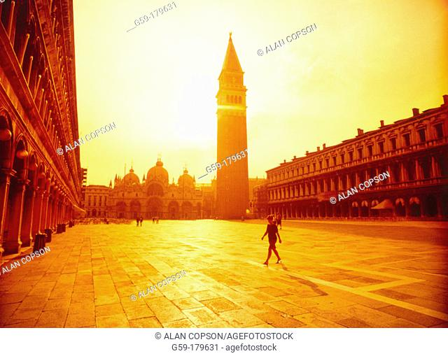 St. Mark's Square. Venice. Italy