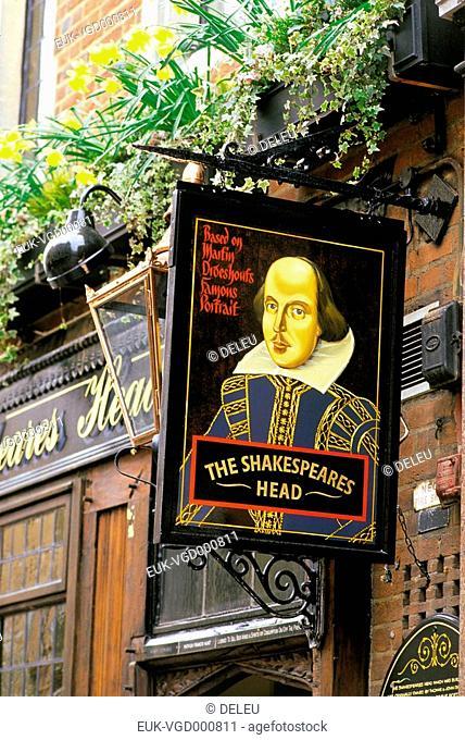 English pub London the Shakespea