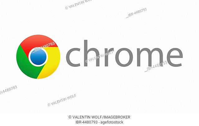 Google Chrome Logo, Internet browser corporate identity, logo, cutout