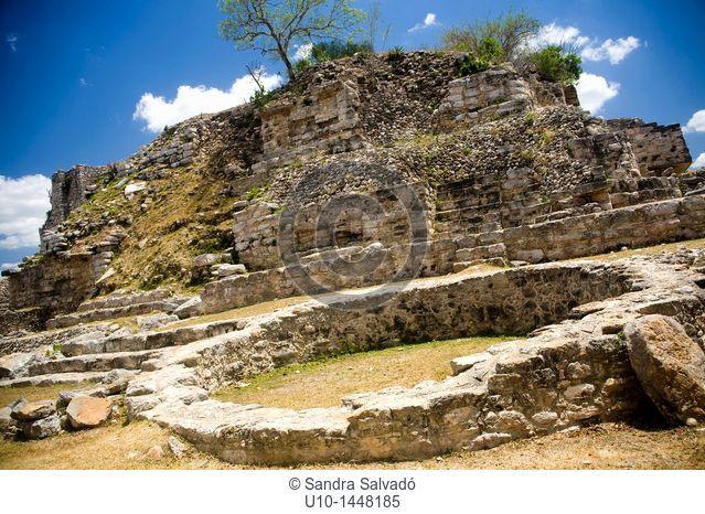 Aké Archaeological Site, Yucatan, Mexico