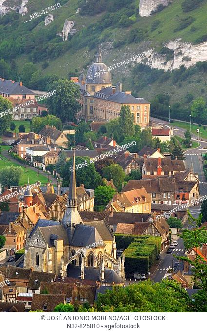 Les Andelys Seine valley, Normandy, France