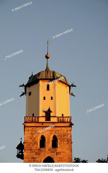 The Church of Saint Martin in Memmingen, Bavaria, Germany
