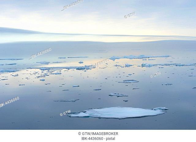 Arctic Ocean, 81°North, Svalbard Archipelago, Norway