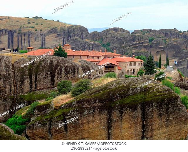 Agias Triados monastery at Meteora, Greece