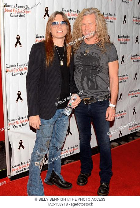 "Mick Sweda and Shane arrives at the 3rd Annual """"Bowl 4 Ronnie"""" Celebrity Bowling Tournament, benefiting the """"Ronnie James Dio Stand Up and Shout Cancer Fund..."