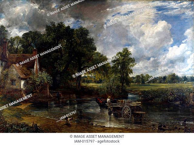 John Constable 1776-1837 English landscape painter The Hay Wain