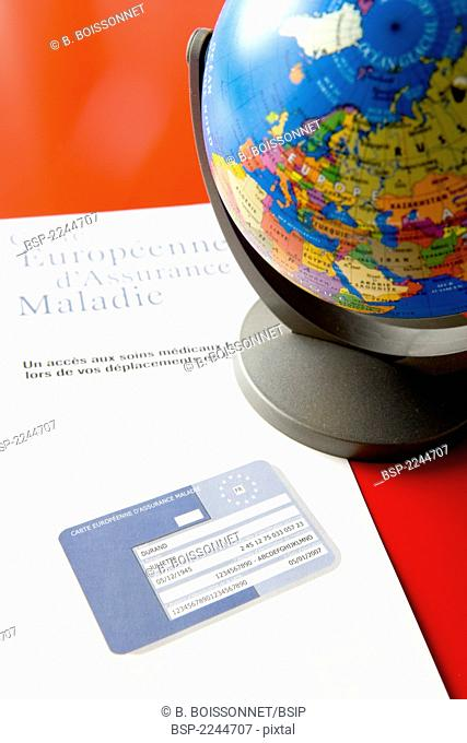EUROPEAN HEALTH INSURANCE CARD European health Insurance Card enables to receive healthcare freely in a country of the 'European Economic Space' (EES) during a...