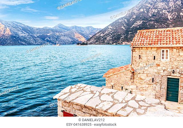 Church of Our Lady of Angels in Verige, Kotor, Montenegro