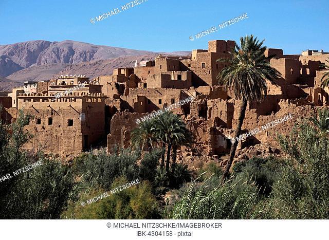Tinghir, oasis, High Atlas, Souss-Massa-Draâ, Morocco