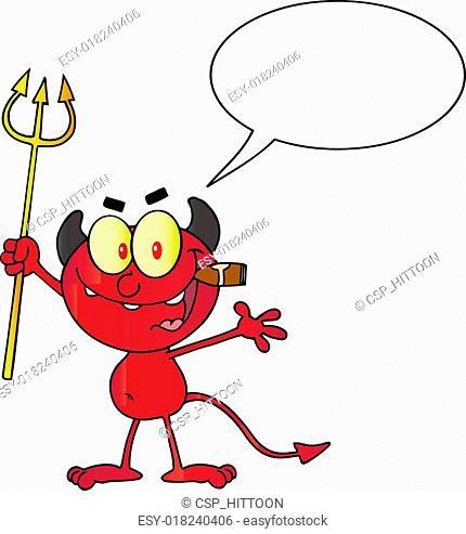 Talking Little Red Devil