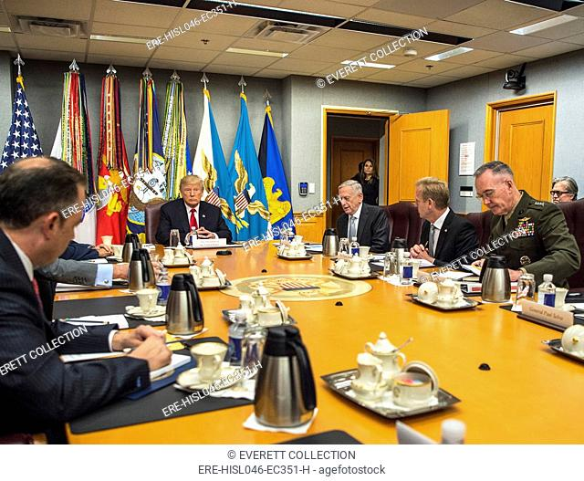 President Donald Trump meets with the National Security Council at the Pentagon, July 20, 2017 (BSLOC-2017-18-166)