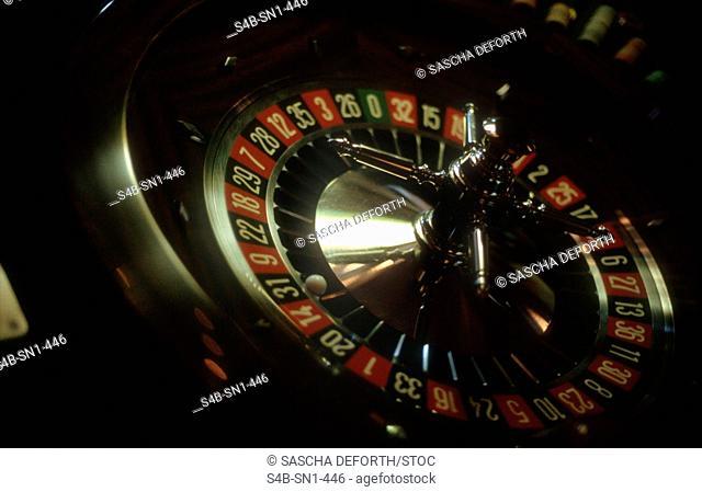 Roulette - Gambling Casino - Wiesbaden - Hesse - Germany