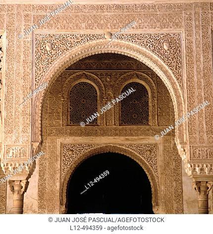 Palacio de Comares, Alhambra, Granada. Andalusia, Spain