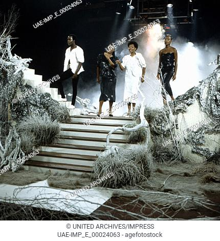 Die Disco-Formation Boney M., Deutschland 1980er Jahre. Disco band Boney M., Germany 1980s