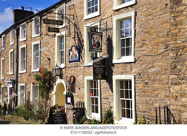 Kings Arms Hotel Askrigg Wensleydale Yorkshire England