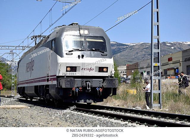 Train, Puigcerda, Spain