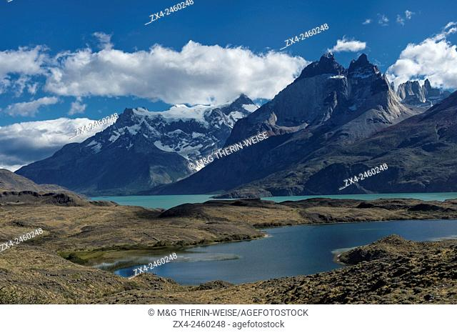 Nordenskjold Lake, Torres del Paine National Park, Chilean Patagonia, Chile