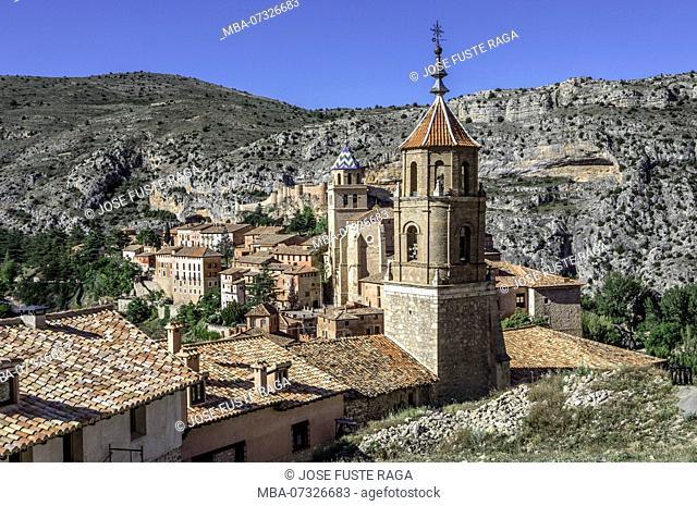 Spain, Aragon, Teruel Province, Albarracin City