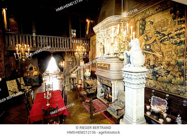 France, Charente Maritime, Rochefort, the French writer Pierre Loti's house, the Renaissance room ask authorization before publication