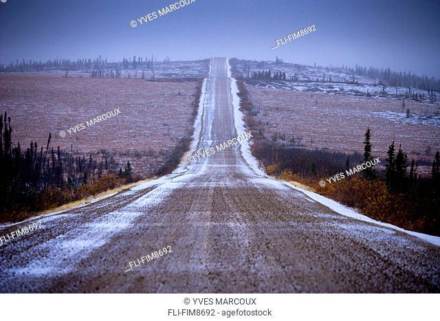 Artist's Choice: Dempster Highway at dusk, Yukon