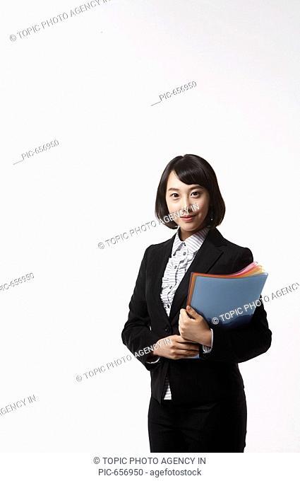 Young Korean Businesswoman