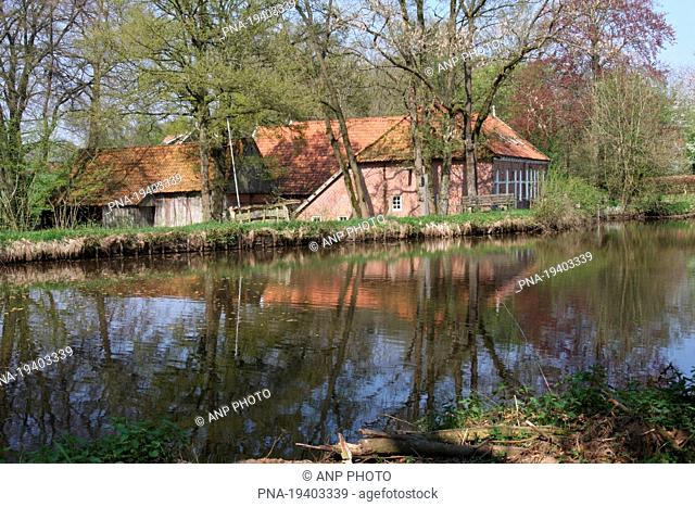 Molen van Frans, Mander, Twente, Overijssel, The Netherlands, Holland, Europe