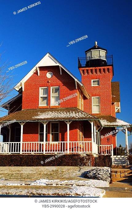 Sea Girt Lighthouse on the Jersey Shore
