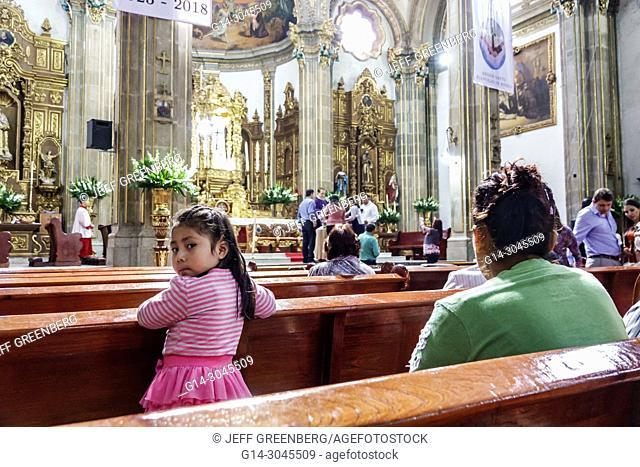 Mexico, Mexico City, Ciudad de, Federal District, Distrito, DF, D.F., CDMX, Mexican, Hispanic, Coyoacan, Del Carmen, Parroquia San Juan Bautista