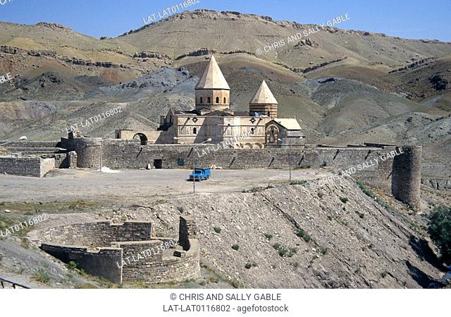 The Saint Thaddeus Monastery also known as Kara Kilise, is an ancient Armenian monastery located in the mountains. Founded in the 13th century it was...