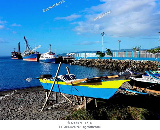 Philippines Leyte Ormoc City Waterfront
