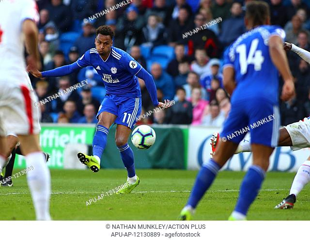 2019 EPL Premier League Football Cardiff City v Crystal Palace May 4th. 4th May 2019, Cardiff City Stadium, Cardiff, Wales; EPL Premier League football