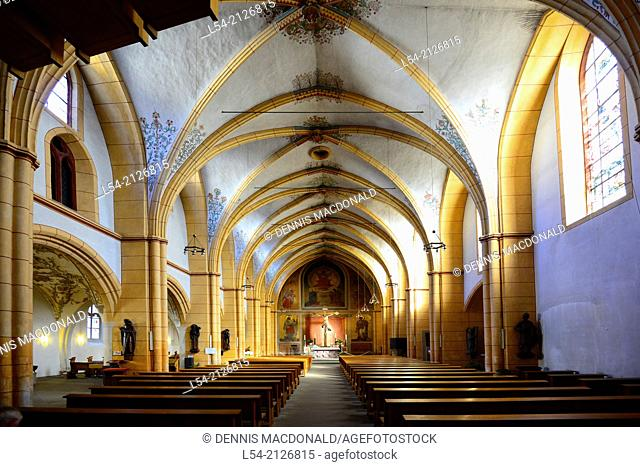 St. Gangolf Church Trier Germany Europe DE River Cruise