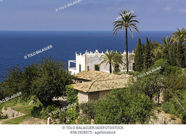 finca S' Estaca -propiedad del actor Michael Douglas-,Valldemossa, Parque natural de la Sierra de Tramuntana, Mallorca, Balearic Islands, Spain