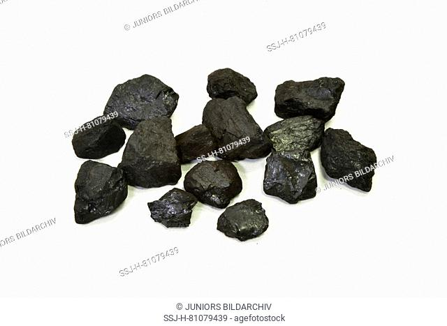 Pyrolysis coke is degassed hard coal, i.e. very pure carbon for the steel industry Germany