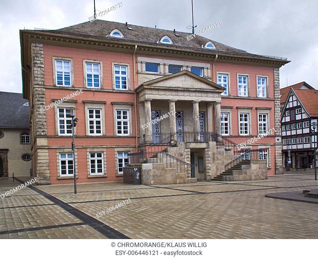 Detmold city hall