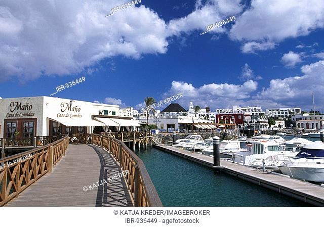 Port of Playa Blanca, Lanzarote, Canary Islands, Spain, Europe