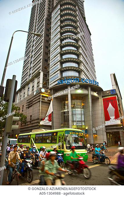 Saigon Centre Shopping Mall. Ho Chi Minh City (formerly Saigon). South Vietnam