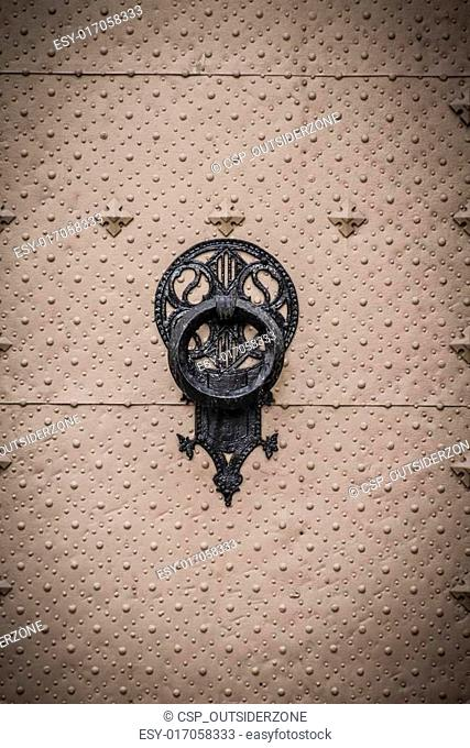door knocker, Spanish city of Valencia, Mediterranean architectu
