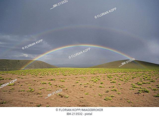 Rainbow, Uyuni Highlands, Bolivia